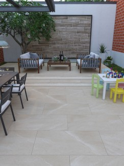 Sunstone Freya Vitrified Porcelain Paving Slabs - 900x450 pack