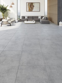 XXL Cemento Silver Indoor Floor Tile - 800x800(mm)