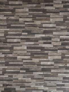 Dark Wood Split Face Effect Outdoor Porcelain Wall Tiles - 150x610x7-11(mm)