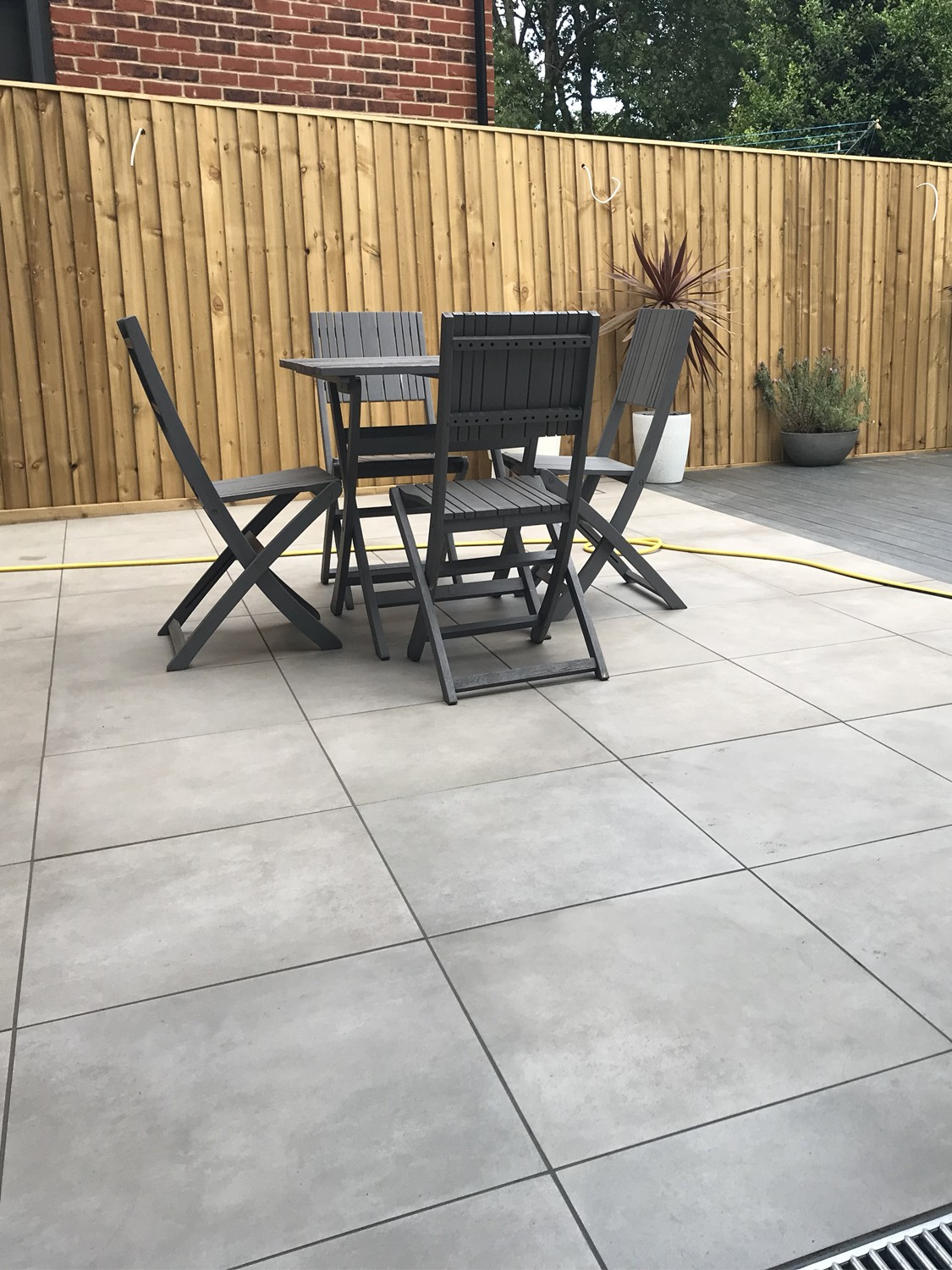 Eclipse Silver Grey Virtue Vitrified Porcelain Paving Slabs - 600x600 Pack