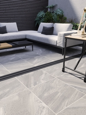 Esparada Grigio Indoor Floor Tile - 600x600(mm)
