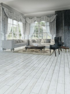 Lata Gris Wood Effect Floor & Wall Tiles - 900x150(mm)