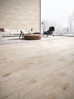 Legna Ivory Wood Effect Floor & Wall Tiles - 1200x300(mm)